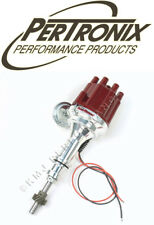 PerTronix D130701 Flame-Thrower II Billet Distributor Ford 289 302 w/Vac Red Cap