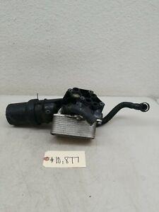 2007 - 2010 VOLKSWAGEN JETTA MK6 2.5L - ENGINE OIL FILTER HOUSING/ CONDENSER OEM