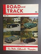1951 Road & Track Magazine Vol.2 #10, May 1951 RARE!! Awesome L@@K