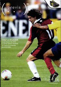 12.10.2005 Chile - Ecuador, World Cup Qualifying Germany 2006