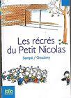 Les Récrés du Petit Nicolas * Sempé/ GOSCINNY * Folio * roman Jeunesse Humour