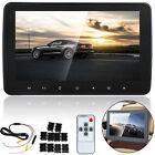 "10"" HD Slim Headrest Monitor HD Digital LCD Screen Car DVD Player Portable"