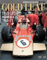 MFH Book NO12 GOLD LEAF TEAM LOTUS 1968-1971 Joe Honda treasured photo