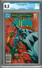 Detective Comics #558 (1986) CGC 8.5  White Pages  Moench - Giordano - Colan