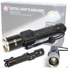 PDR*TORCIA LAMPADA LED RICARICABILE 7 LED CREE 6+1 288000 LUMEN 188000W  USB 528