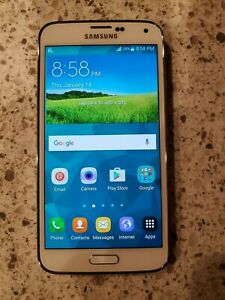Samsung Galaxy S5 SM-G900R4 - 16GB - Shimmery White (U.S. Cellular) Smartphone