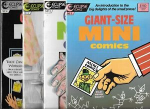 GIANT-SIZE MINI COMICS #1-#4 SET (VF/NM) ECLIPSE COMICS, COPPER AGE SERIES