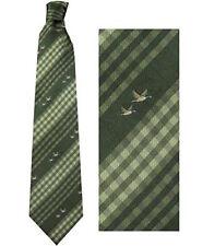 No.7 corbata pato cuadros Poliéster por Bisley - Cacería ropa caza campo