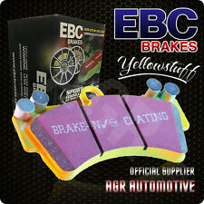 EBC YELLOW PADS DP42029R FOR PORSCHE BOXSTER S CAST IRON DISCS ONLY 3.4 2008-12