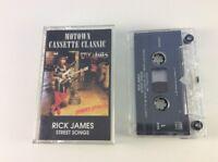 Rick James - Street Songs Cassette (1992, Motown, Clear Reissue) FREE SHIPPING