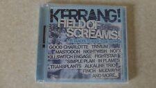 Kerrang Field Of Screams 15 Track CD Various Artists