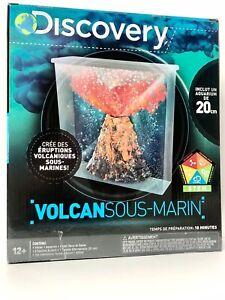 Discovery Underwater Volcano STEM Project Kit Lava Eruption !!