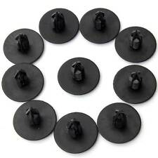 10x Wheel Arch Lining Guard Trim Clips For Renault Clio MK2 Scenic Megane Black