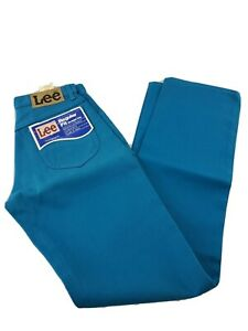 Vintage NWT Lee Rider Reg Fit Straight Leg Jeans 28 x34 200-1839 New Old Stock