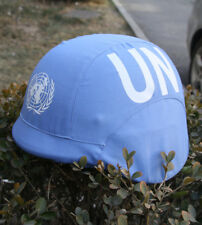 US UNITED NATIONS PEACEKEEPING FORCE TACTICAL M88 HELMET COVER