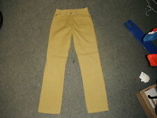 """Easy Lily Classic Fit Size 10 Leg 29"""" Faded Mustard Ladies Jeans"""