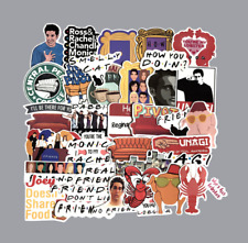 TV Show Friends Stickers Laptop Suitcas Bicycle Luggage Car Sticker Decal Decor