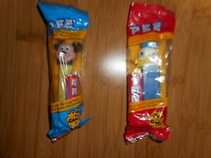 disney pez dispensers donald duck and mickey mouse