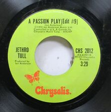Rock Nm! 45 Jethro Tull - A Passion Play (Edit #9) / A Passion Play (Edit #8) On