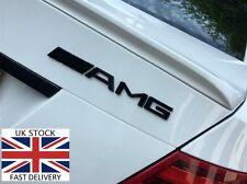 AMG Nero Posteriore Emblema Distintivo Mercedes Benz A B C E S CL SL ML CLK CLS SLK Classe