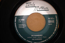 "SUPREMES ""The Happening"" b/w ""All I Know About You"" TAMLA- MOTOWN Germany VG+"
