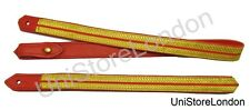 Infantry Sword Slings Long & Short  Gold with Red  R373