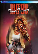 Tina Turner - Rio 88' (DVD, 2010) new and sealed freepost