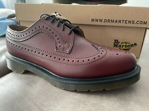 NP 169€ ! Doc Martens 5 Loch 3989 Brogue Cherry Red Smooth 40 UK6,5 , US 7,5 Dr