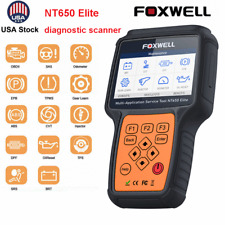Foxwell NT650 Elite Automotive OBD2 Scanner Diagnostic Reset tool SRS TPMS DPF