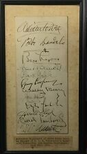 Vintage Hollywood autographs -- Carole Lombard, Clark Gable, Gary Cooper, others