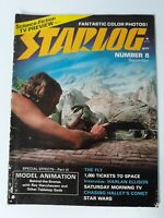 Vintage Starlog Magazine #8 September 1977 Star Wars Ray Harlan Ellison The Fly