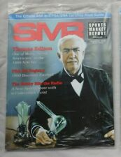 THOMAS EDISON DEC 2016 SMR Sports Market Report PSA Price Guide Factory Sealed