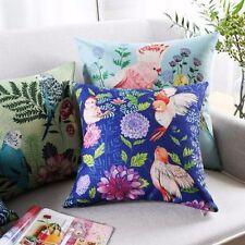 Floral Garden Cotton Blend Decorative Cushions & Pillows