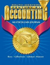 Century 21 Accounting Multicolumn Journal Anniversary Edition, 1st Year Course C