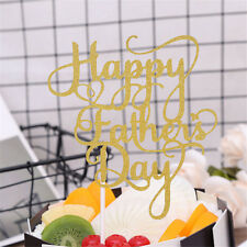 Happy Father's Day Cake Flags For Thanksgiving Day Father Birthday Party Decor