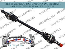 FITS BMW 5 SERIES (E60, E61) 2002-2010 REAR LEFT & RIGHT DRIVE SHAFTS PAIR - NEW