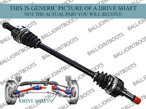 FITS MINI COOPER / ONE (R50, R53) 2001-04 FRONT LEFT & RIGHT DRIVE SHAFTS PAIR