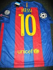 Authentic Messi Barcelona Jersey 2016 - 2017 UEFA Shirt Camiseta Size M NEW!