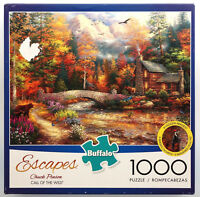 jigsaw puzzle 1000 pc Escapes Call of the Wild Chuck Pinson Buffalo Games Inc