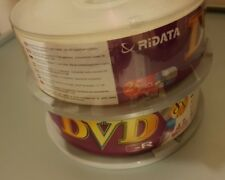 25 DVD-R Vergini 4,7Gb Ritek top qualità basta problemi di compatibilità lettori