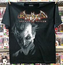 BATMAN ARKHAM ASYLUM JOKER PROMOTIONAL TEE SHIRT NOS 2009 PS3 X-BOX 360 ADULT L