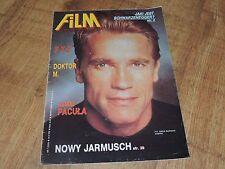Film 7/1992 polish magazine Arnold Schwarzenegger, Faye Dunaway, Woody Allen