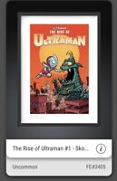VEVE NFT⚡️THE RISE OF ULTRAMAN #1 UNCOMMON DIGITAL ART COMIC COVER Skottie Young