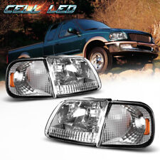 For 97-03 Ford F150 Expedition Headlight Headlamp + Corner Signal 98 99 00 01 02