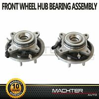 2X Front Wheel Bearing & Hub Assembly for 2009 2010 Ford F-150 2WD w/ABS 515117