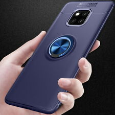 Mental Car Holder KickStand Soft Silicone Case Cover For Huawei Mate 20 Pro Lite