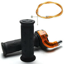 Twist Throttle Accelerator Grip with Cable 47cc 49cc Mini Pocket Bike ATV Parts