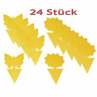 Gelbtafeln Gelbsticker Fliegenfänger 24-er Set Gelbe Tafeln Fruchtfliegen-Falle