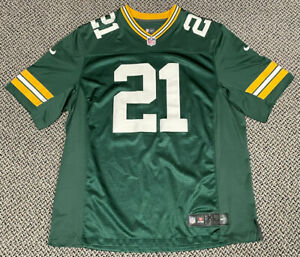 Nike Authentic Charles Woodson Green Bay Packers Jersey Seen Stitched Size XL