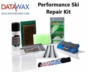 Datawax Performance Ski Repair Kit - Fantastic Gift For Any Skier